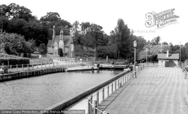 Photo of Allington, Locks c.1965