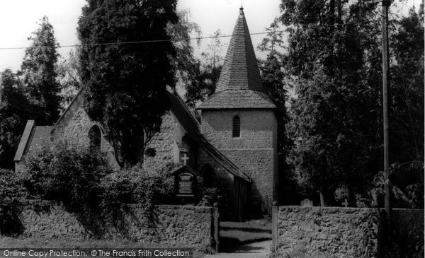Photo of Allington, St Laurence's Church c.1965