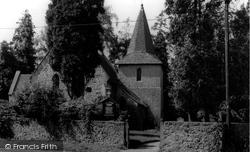 Allington, St Laurence's Church c.1965