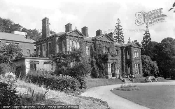 Photo of Allithwaite, Boarbank Hall c.1955