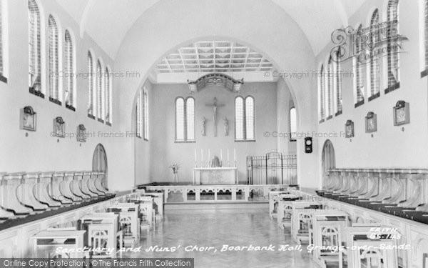 Photo of Allithwaite, Boarbank Hall, Sanctuary And Nuns' Choir c.1965