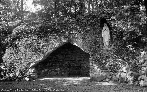 Photo of Allithwaite, Boarbank Hall, The Grotto c.1955