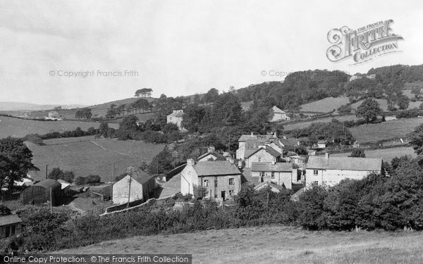 Photo of Allithwaite, From Jack Hill c.1955