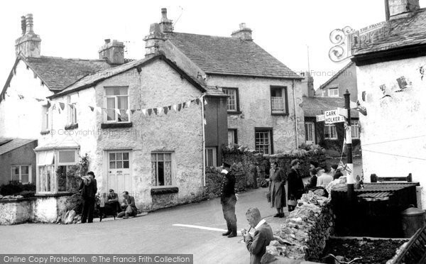 Photo of Allithwaite, The Village 1953