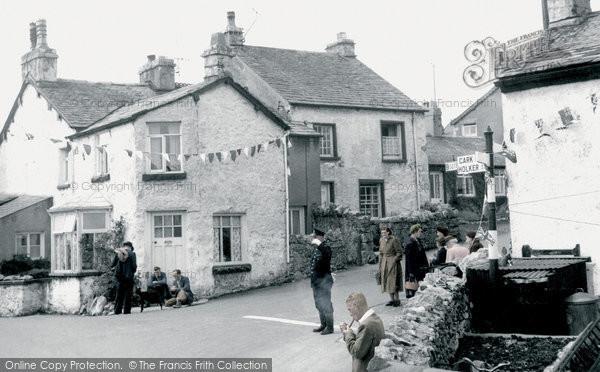 Photo of Allithwaite, The Village 1953