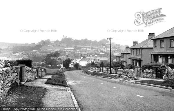 Photo of Allithwaite, The Village c.1955