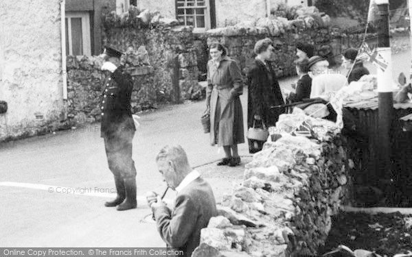 Photo of Allithwaite, Villagers 1953