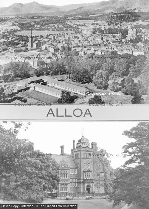 Photo of Alloa, Composite c.1950