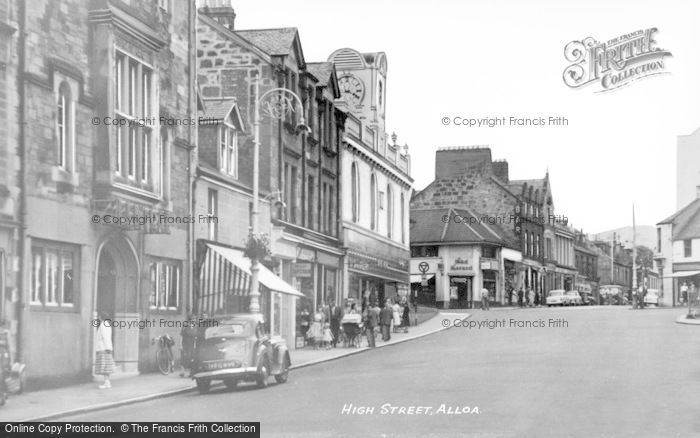 Photo of Alloa, High Street c.1950