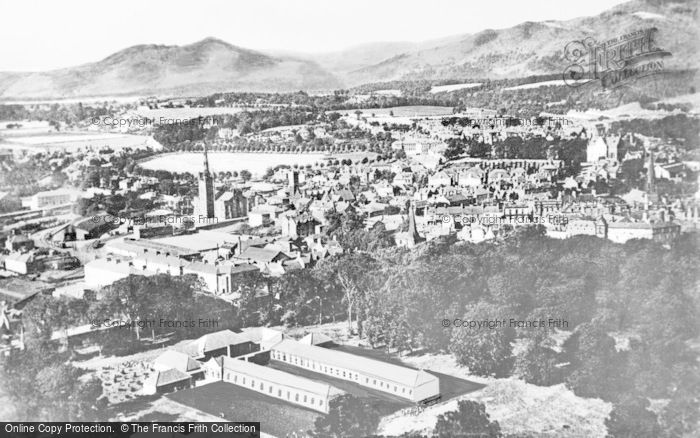 Photo of Alloa, Town And Ochil Hills c.1955