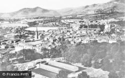 Alloa, Town And Ochil Hills c.1955