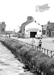 Central Garage c.1955, Allonby