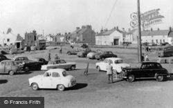 Allonby, Centre Of The Village c.1960
