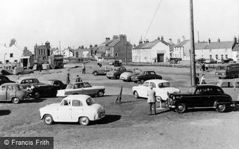 Allonby, Centre of the Village c1960