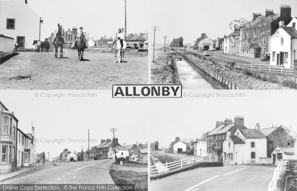 Photo of Allonby, Composite c.1960