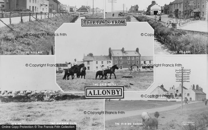 Photo of Allonby, Composite c.1965