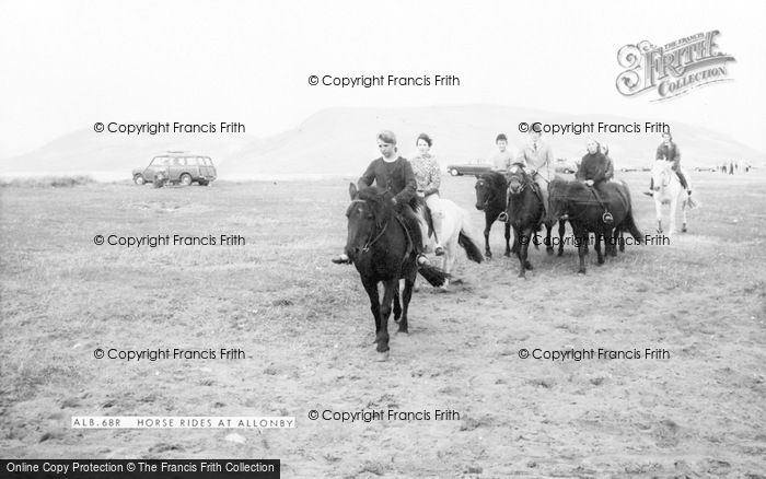 Photo of Allonby, Horse Rides c.1965