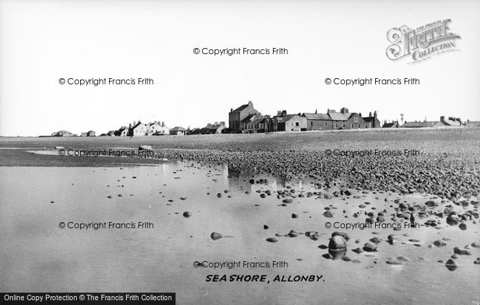 Photo of Allonby, Seashore c.1955