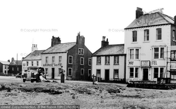 Photo of Allonby, Solway Hotel c.1955