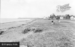 Allonby, The Beach c.1965