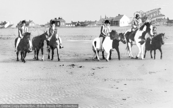 Photo of Allonby, The Beach c.1965