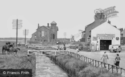 The Beck And Village c.1955, Allonby
