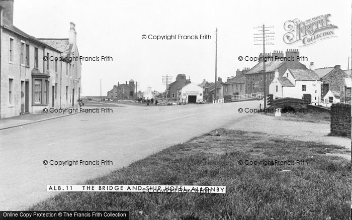 Photo of Allonby, The Bridge And Ship Hotel c.1955