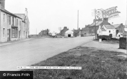 Allonby, The Bridge And Ship Hotel c.1955
