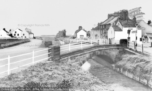 Photo of Allonby, The Bridge And Village c.1965