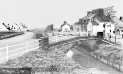 Allonby, The Bridge And Village c.1965