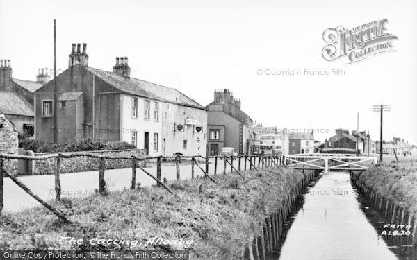 Photo of Allonby, The Cutting c.1955