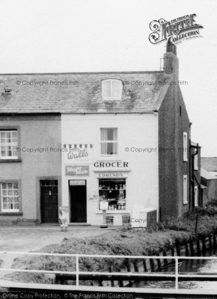 Photo of Allonby, The Grocer c.1965
