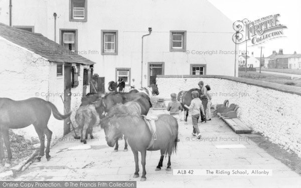 Photo of Allonby, The Riding School c.1960