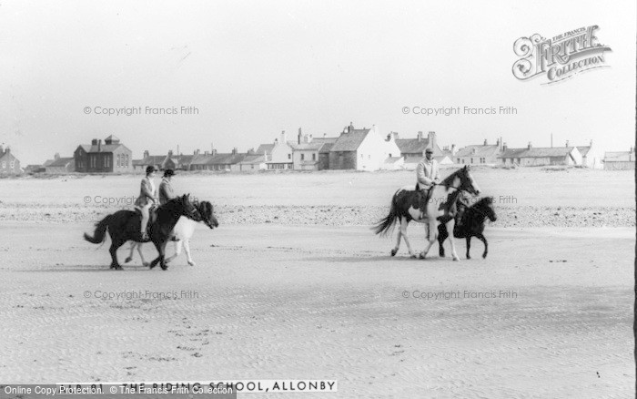 Photo of Allonby, The Riding School c.1965