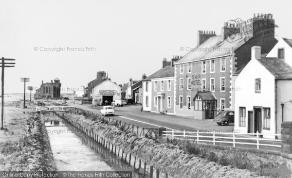 Photo of Allonby, The Ship Hotel c.1955