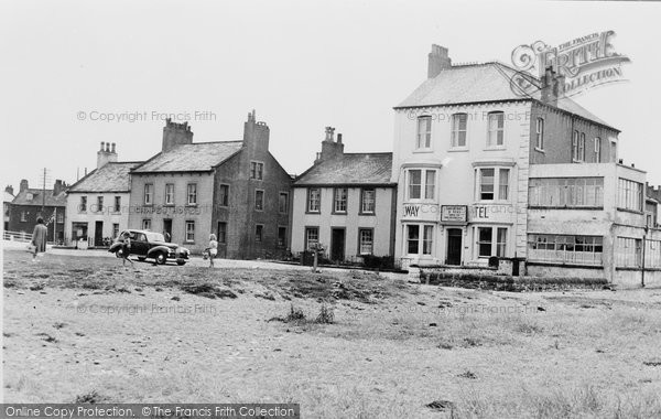 Photo of Allonby, The Solway Hotel And Post Office c.1955