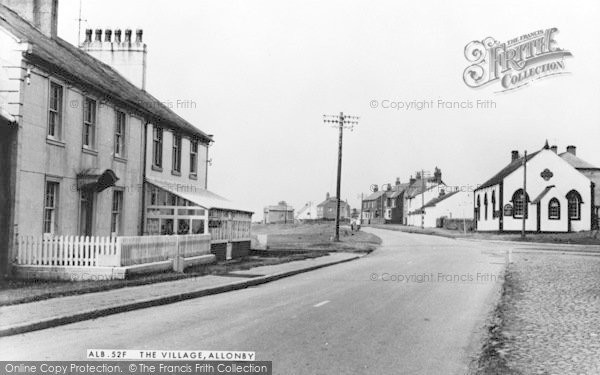Photo of Allonby, The Village c.1965