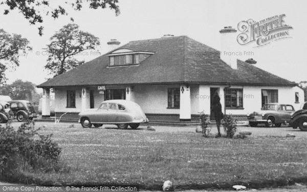 Photo of Allostock, All Ways Café c.1955