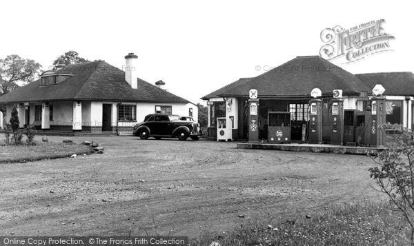 Allostock, All Ways Filling Station c.1955