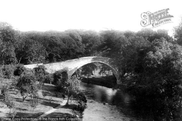 Photo of Alloway, Auld Brig O'doon 1900