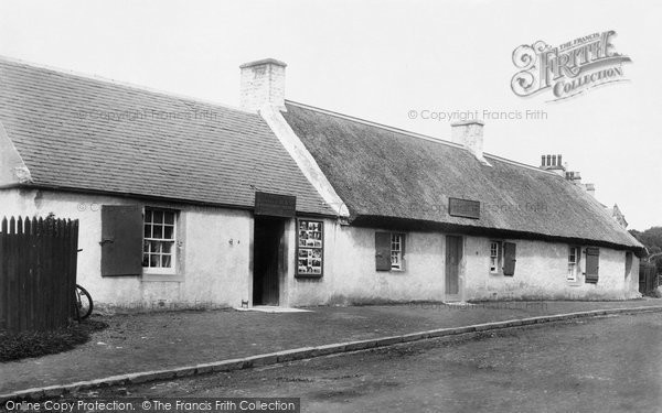 Photo of Alloway, Birthplace Of Robert Burns (1759 1796) 1897