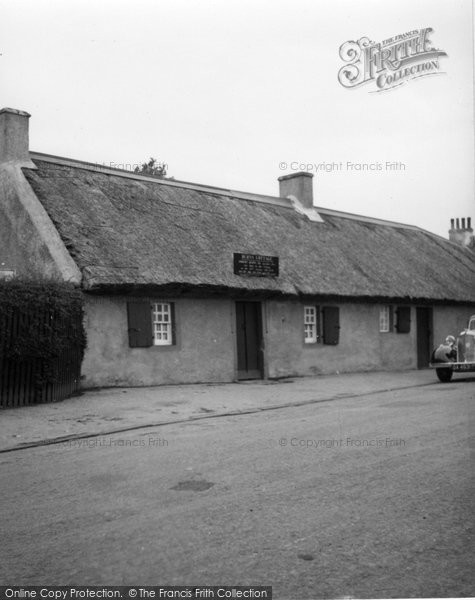 Photo of Alloway, Birthplace Of Robert Burns c.1935