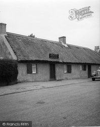 Alloway, Birthplace Of Robert Burns c.1935