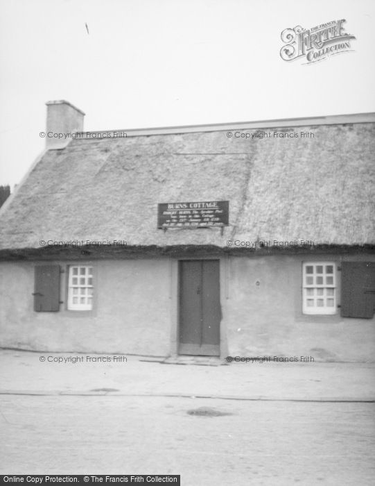 Photo of Alloway, Burn's Cottage c.1935