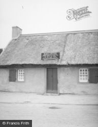 Alloway, Burn's Cottage c.1935