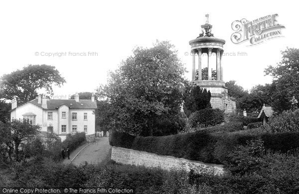 Photo of Alloway, Burns's Monument 1897