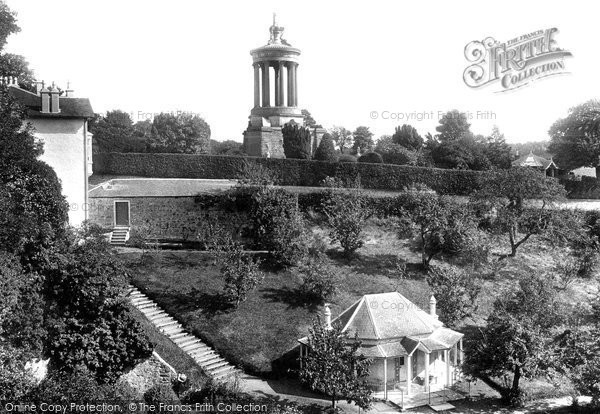 Alloway, Burns's Monument And Shell Grotto 1900