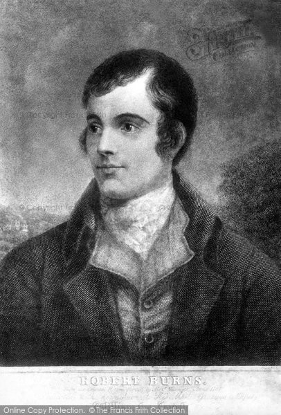 Alloway, Portrait Of Robert Burns (1759 1796)