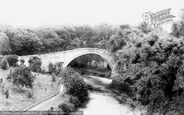 Photo of Alloway, The Auld Brig O'doon 1897