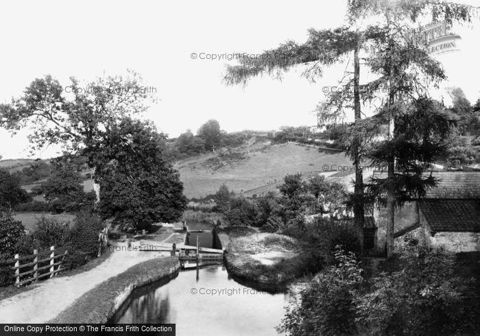 Photo of Allt Yr Yn, Above The Lock 1893